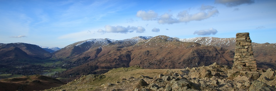 Loughrigg Fell Summit - The Lake District