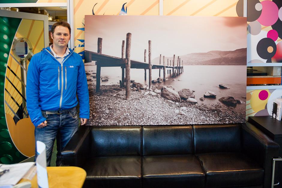 Large canvas print of Derwent Water