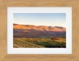 The helvellyn Range at Sunset