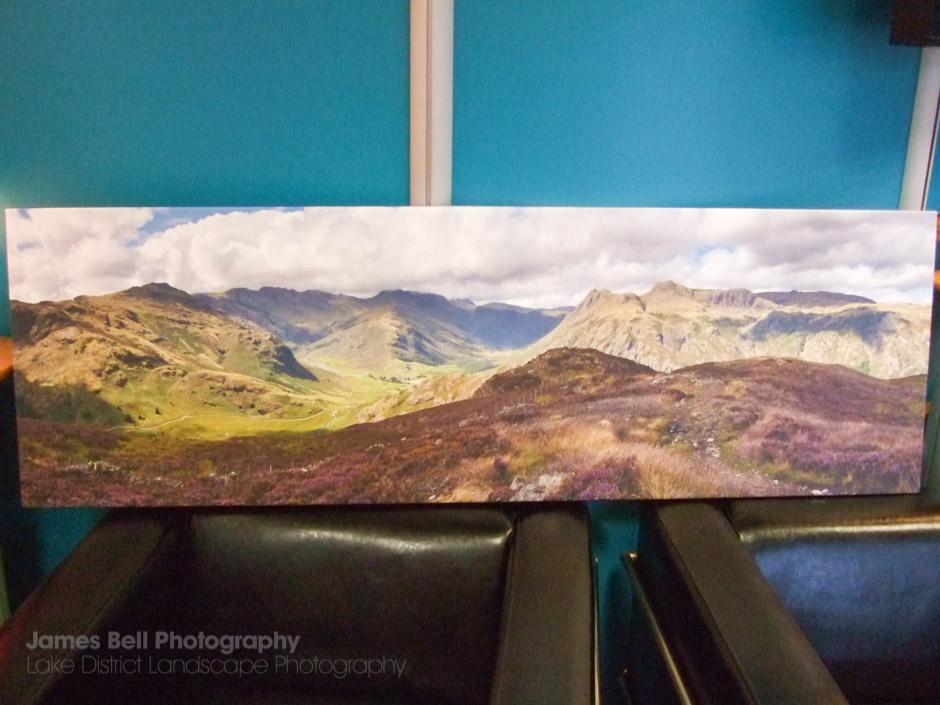 Lingmoor Fell Canvas Print