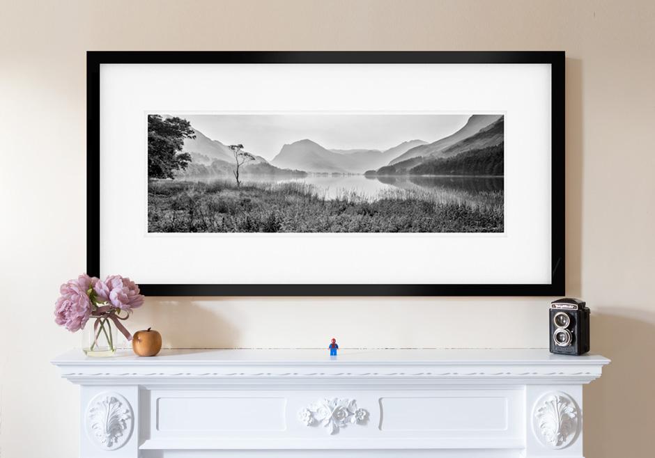 Encantador Large Panoramic Picture Frames Adorno - Ideas ...