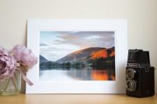 Mounted Lake District Landscape Prints