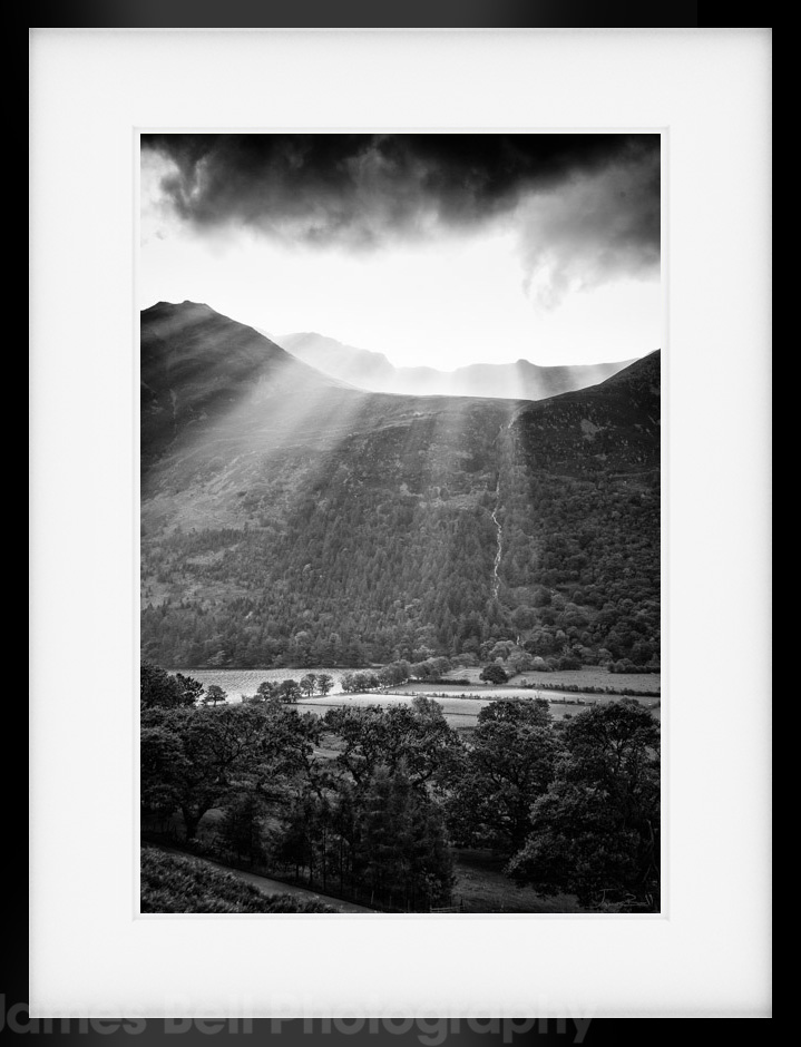 Black And White Prints Lake District