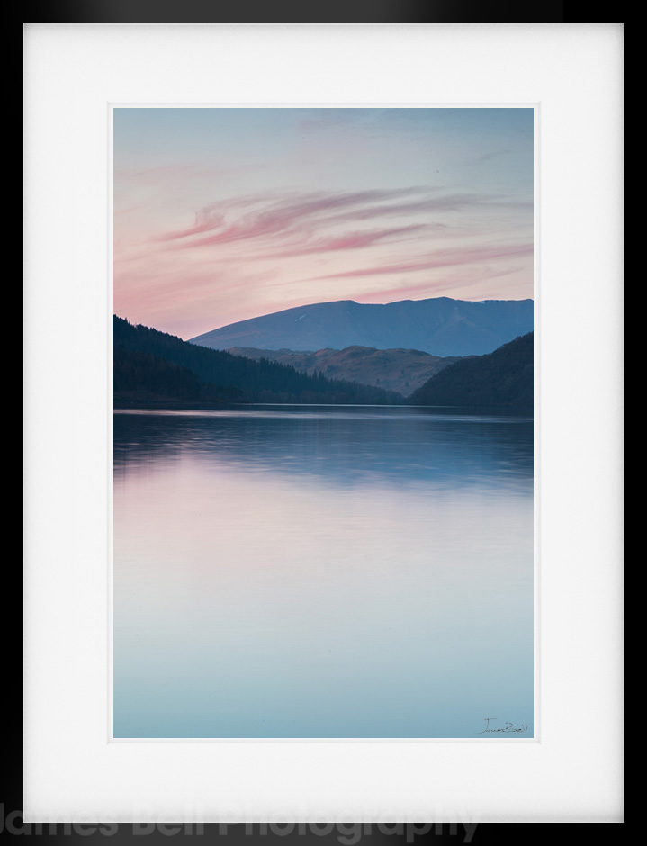 thirlmere evening shoot lake district landscape