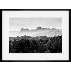 The Langdale Pikes in Mono