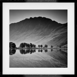 Haystacks Reflection