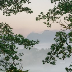 Langdale Misty Morning