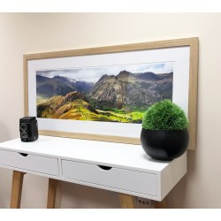 90cm Print in a Solid Oak Frame