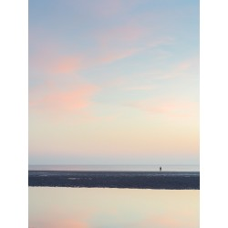 Sunset on Crosby Beach III
