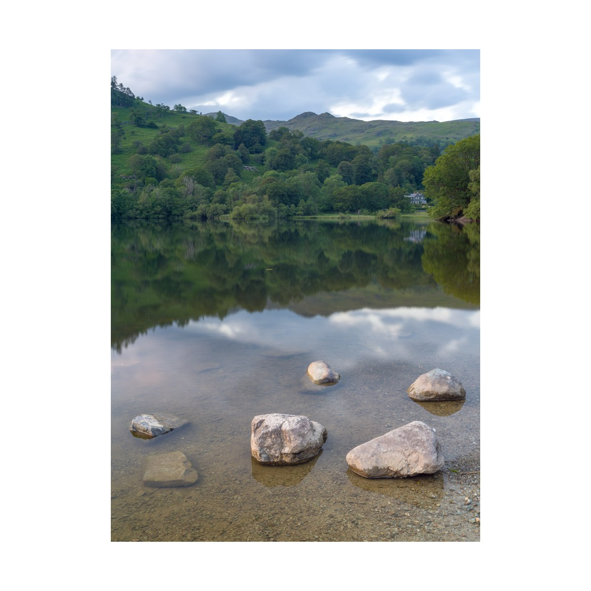 Rydal Water Summer Reflections