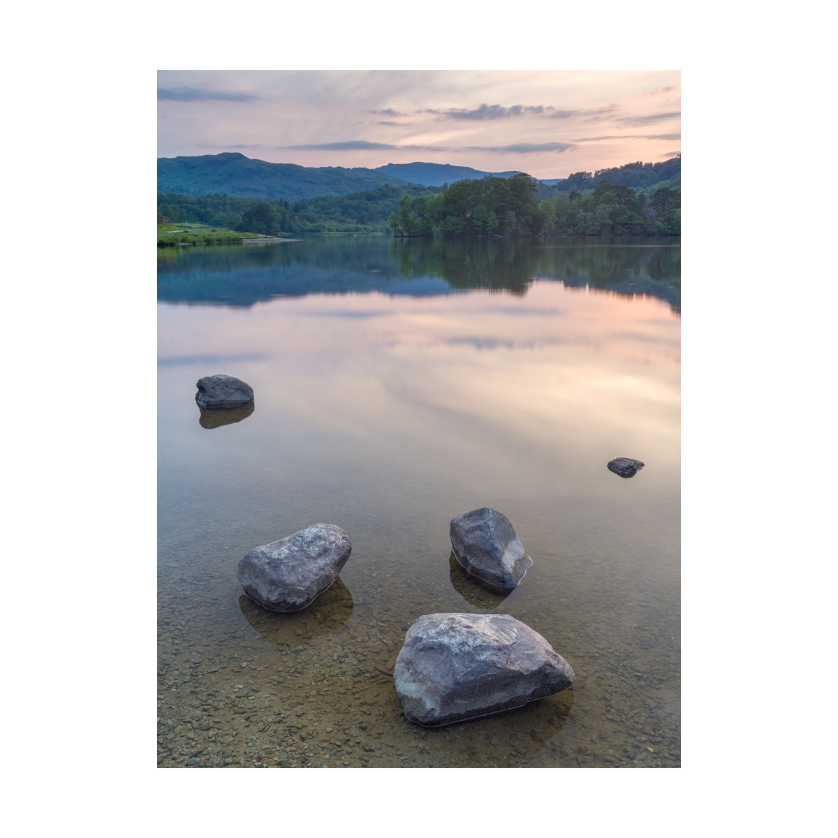 Rydal Water Summer Sunset