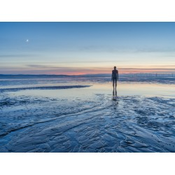 Crosby Beach Afterglow