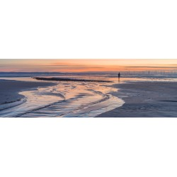 Crosby Beach Sunset Vista