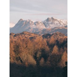 Langdale Pikes in Winter