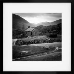 St James Church Buttermere Framed Print