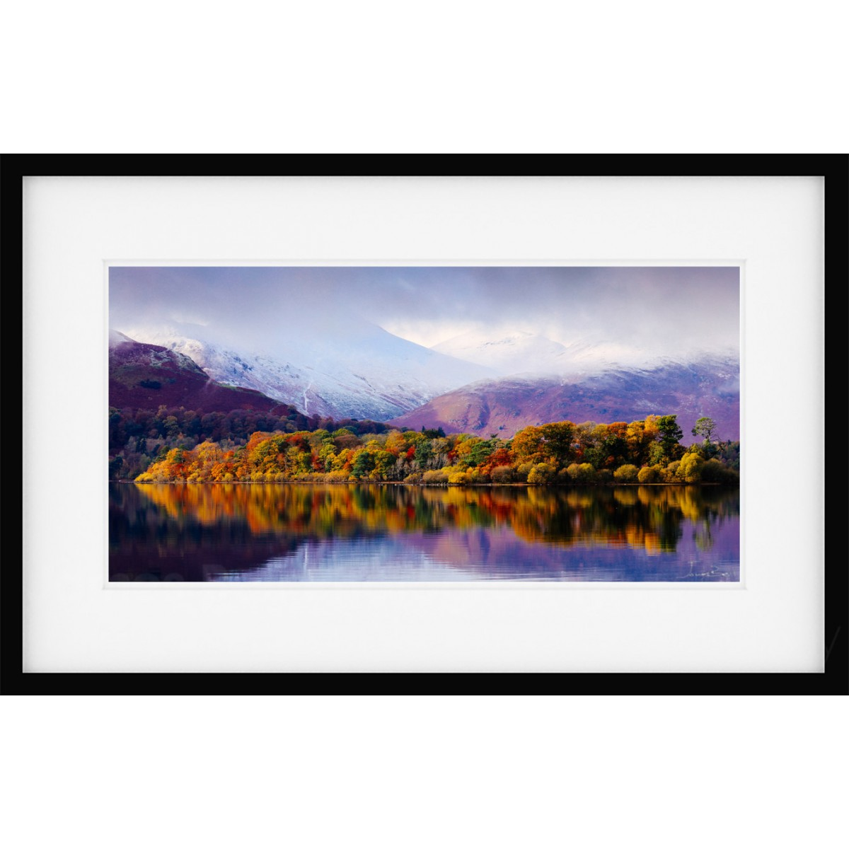 Borrowdale Autumn II Framed print