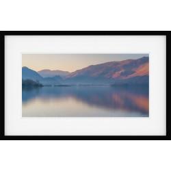 Derwentwater Sunrise II framed print