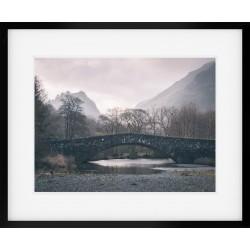 Grange Bridge in Borrowdale framed print