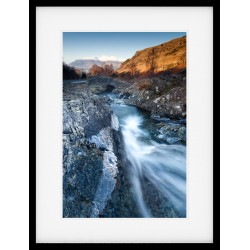 Ashness Bridge Framed Print Winter