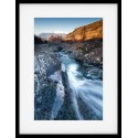 Ashness Bridge Framed Print Winter