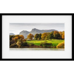 Loughrigg Tarn Autumn Framed Print