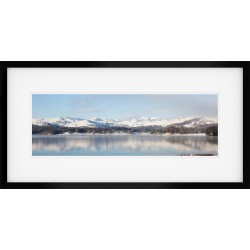 Windermere Winter Framed Print