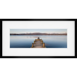 Windermere Jetty Wide Framed Print