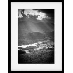 Elterwater Rays Framed Print
