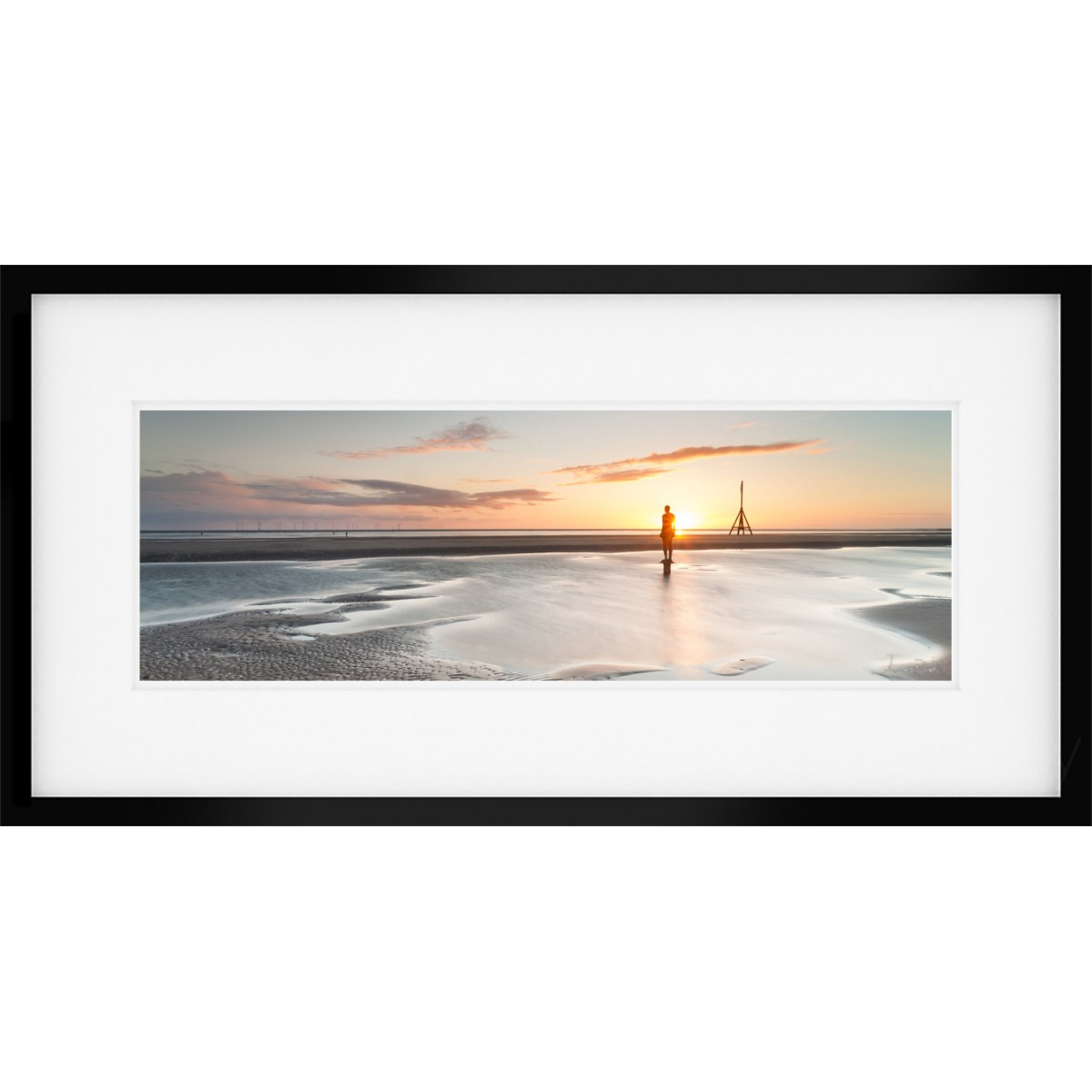 Another Place Sunset Framed print