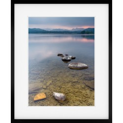 Windermere Portrait Framed Print