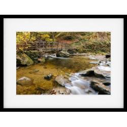 Stockghyll Autumn framed print
