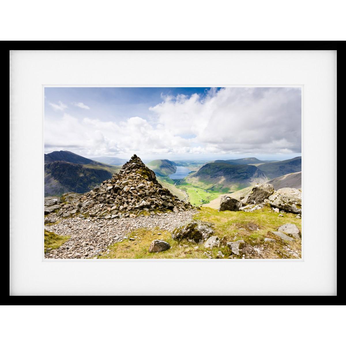 Westmorland Cairn Framed Print