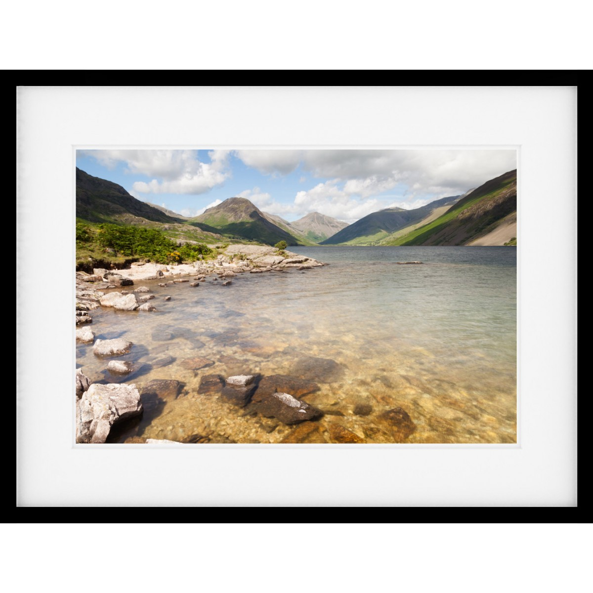 Wastwater Summer Framed Print