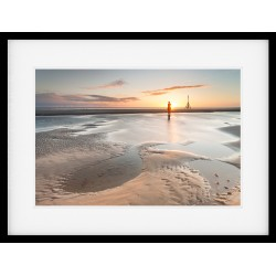 Another Place - Crosby Beach Framed Print