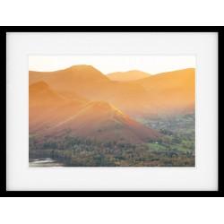 Catbells Light Framed Print
