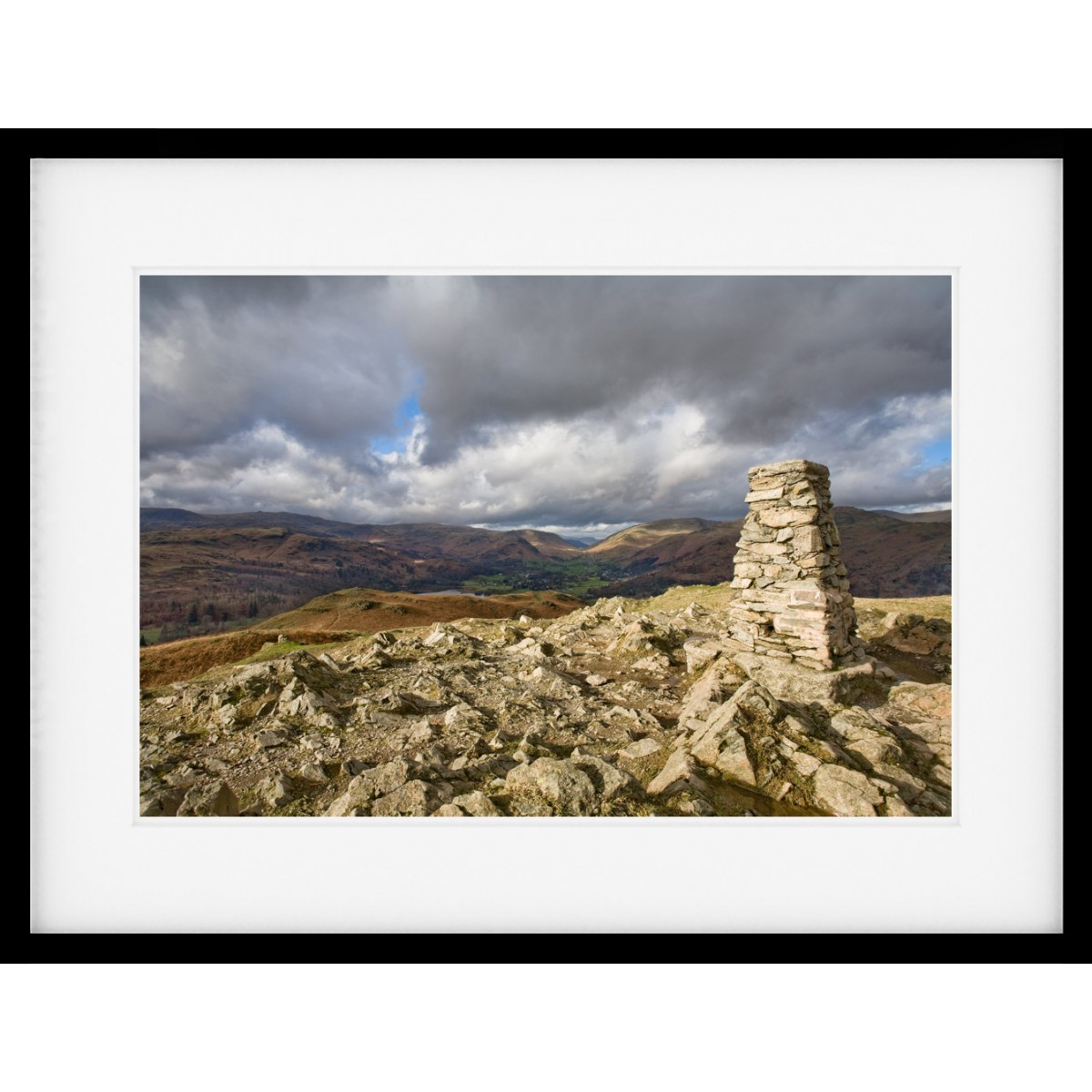 Loughrigg Summit Framed Print