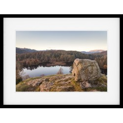 Tarn Hows Memorial Framed Print