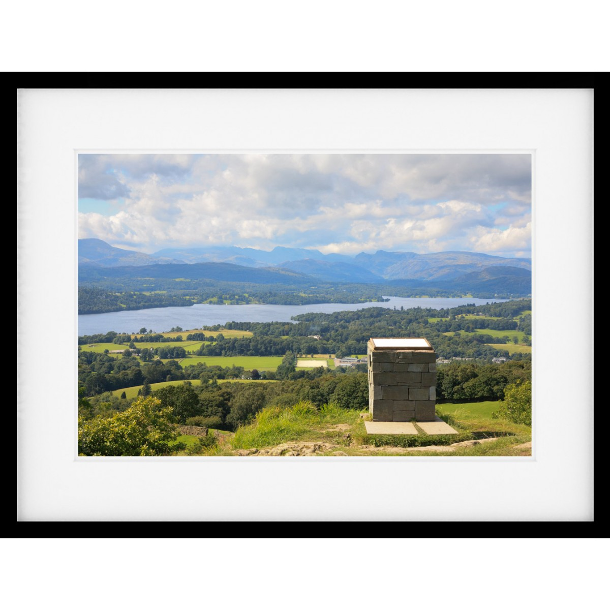 Orrest Head View Framed print