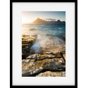 Elgol Beach Edge Framed Print