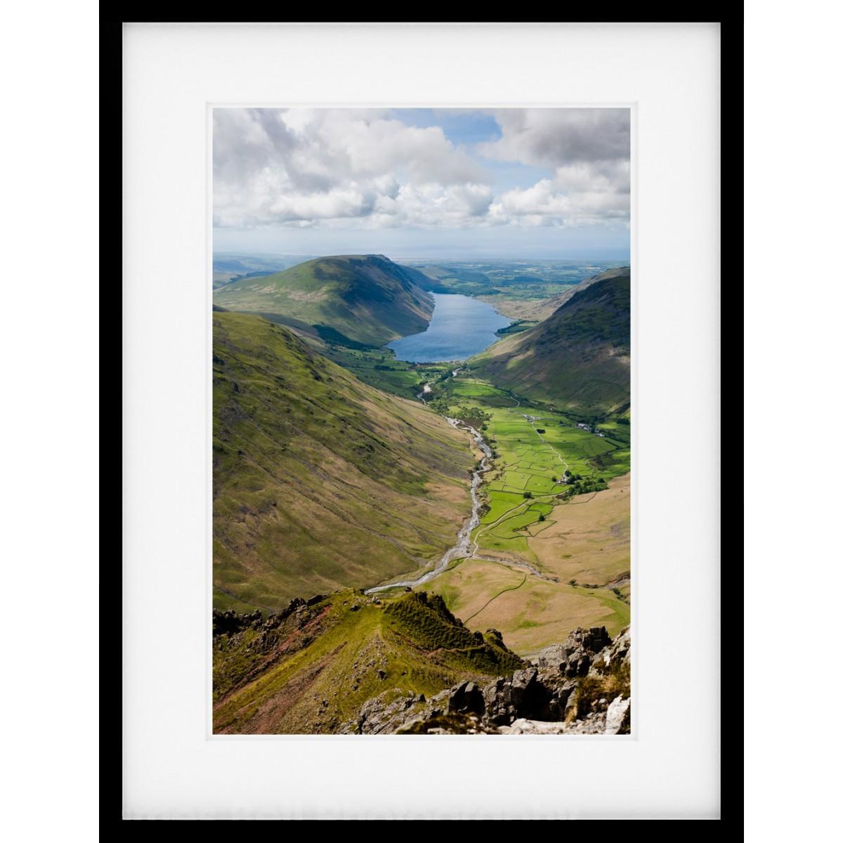 Wasdale View Framed Print