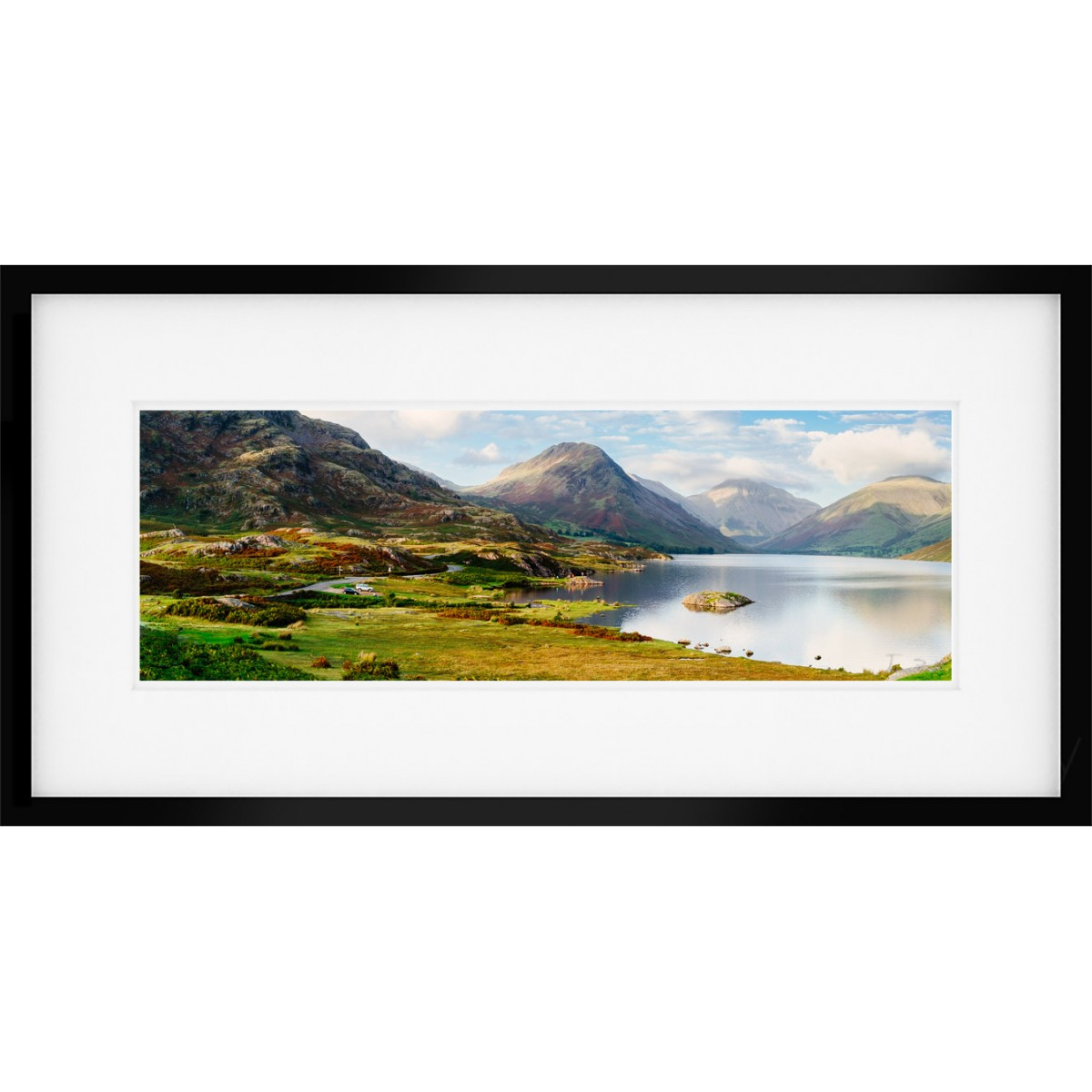 Wastwater Autumn Framed Print