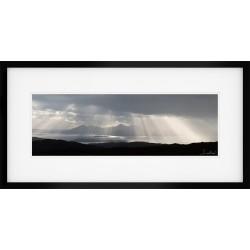 Bealach na B� View Framed print
