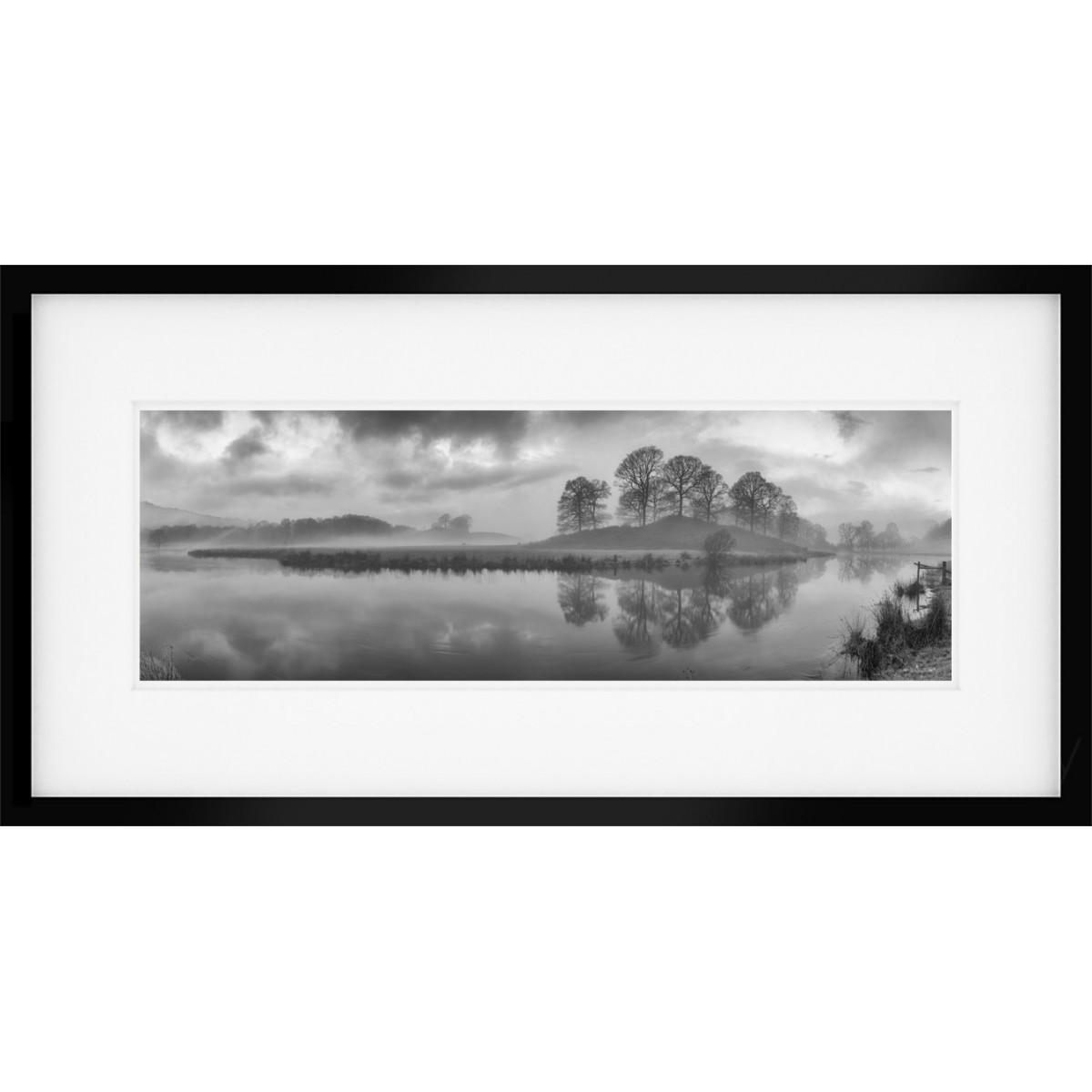 River Brathay Vista Framed Print