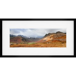 Langdale Light Vista framed print