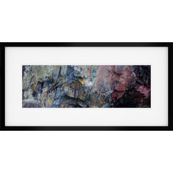 Slate Palette Framed print