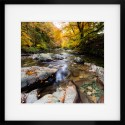 Esk Pool framed print