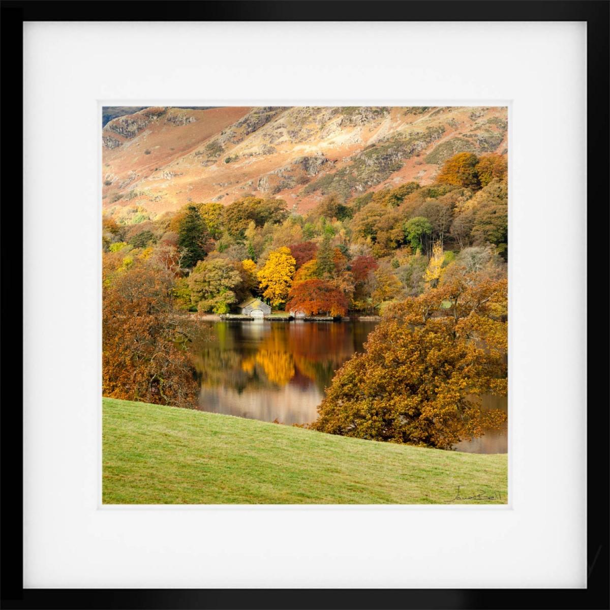 Coniston Autumn Framed Print