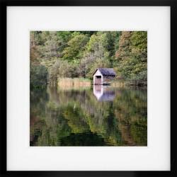 Rydal Boathouse Framed Print