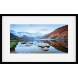 Wastwater Glow Framed Print