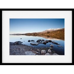 Coniston Shore Framed print
